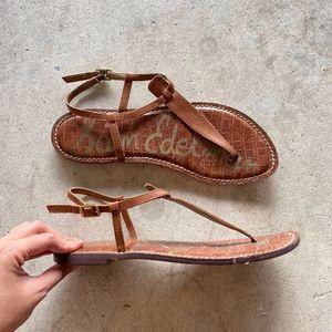 Sam Edelman Gigi Thong T-Strap Ankle Strap Sandals